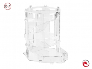 e-Raptor Dice Tower of Glass