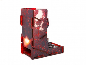 e-Raptor Dice Tower swap! FULL PRINT Inferno