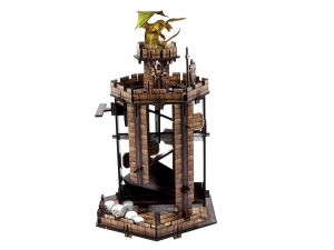 e-Raptor Dice Tower Battleground (UV PRINT)