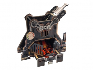 e-Raptor Dice Tower Steam Punk Furnace (UV PRINT)