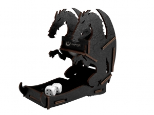 e-Raptor Dice Tower - Dragon Black Small